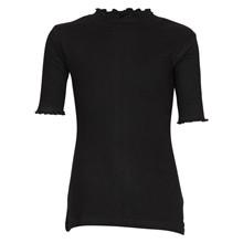 4408775 D-xel T-shirt m. Turtleneck SORT