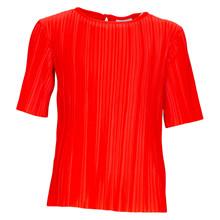 4408778 D-xel Cup Plisseret T-shirt RØD