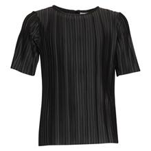 4408778 D-xel Cup Plisseret T-shirt SORT
