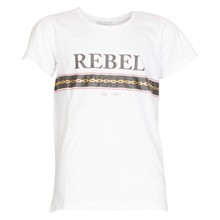 4501906 D-xel Rosalia 906 T-shirt HVID