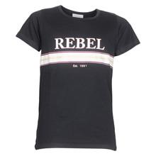 4501906 D-xel Rosalia 906 T-shirt SORT