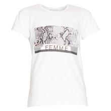 4501913 D-xel Rosalia 913 T-shirt HVID