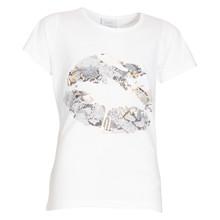 4501702 D-xel Rosalia 5090 T-shirt HVID