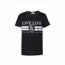 4710835 D-xel Judi 835 T-shirt SORT