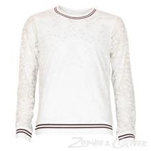 4510997 D-xel Momoa 997 Blonde tee Off white