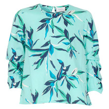 4603723 D-xel Grayson 723 Bluse TURKIS