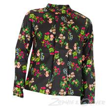 4208550 D-xel Rita 550 skjortebluse MØNSTRET