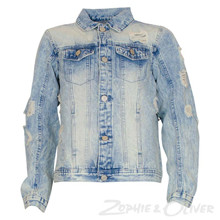 4302900 D-xel Adina Denim Jacket LYS BLÅ