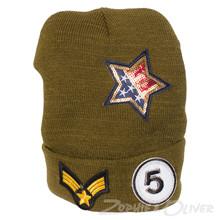 HT050 Højtryk Hue m. Badges ARMY