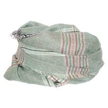 SC051 Højtryk Ternet Tørklæde GRØN