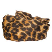 SC052 Højtryk Leopard Tørklæde SORT