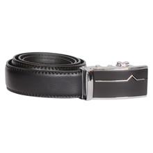 BT020 Højtryk V Leather Belt SORT