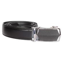 BT020 Højtryk Black Leather Belt SORT
