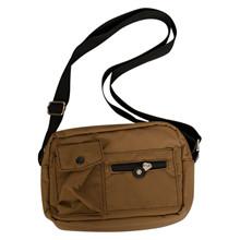 BG130 Højtryk Nylon Bags BRUN