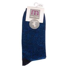 220166 Melton Glimmerstrømper MARINE