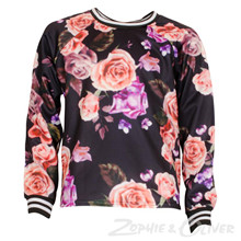 2961 Queenz Sweatshirt    SORT