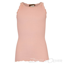 59159 Rosemunde Silk top Regular LYSERØD