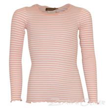 59160-1 Rosemunde Silk T-shirt L/Æ LYS RØD