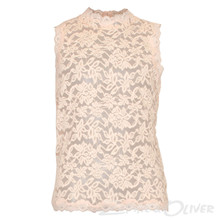 60136 Rosemunde Blonde Top LYS RØD