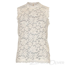 60136 Rosemunde Blonde Top Off white