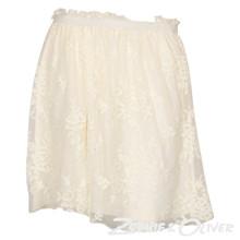 60139 Rosemunde Nederdel Off white