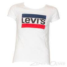NL10727 Levis Brenda T-shirt HVID