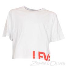 NL10657 Levis Carrie T-shirt HVID