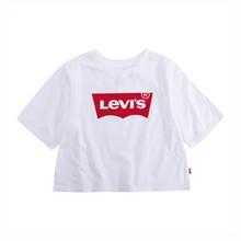 4E0220 Levis Crop Top T-shirt HVID