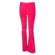 1913-421 Grunt Flare Cord pants PINK