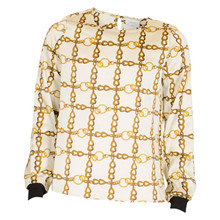 1943-105 Grunt Alyssa Chain Shirt HVID