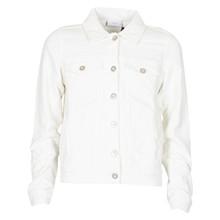 1913-422 Grunt Sanne Fløjls jakke Off white