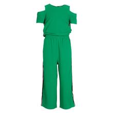 1743-503 Grunt Culotte Suit  GRØN