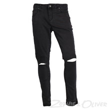 1721-112 Native Knee cut Jeans KOKSGRÅ