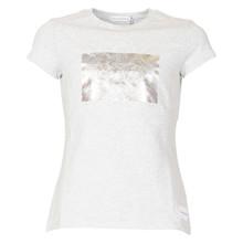 IG0IG00186 Calvin Klein Box T-shirt GRÅ