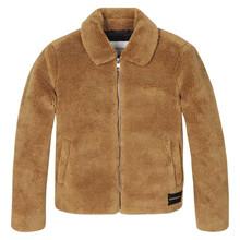 IG0IG00278 Calvin klein Fake Fur BRUN
