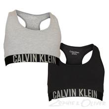 G80G800143 Calvin Klein 2p Bralette GRÅ