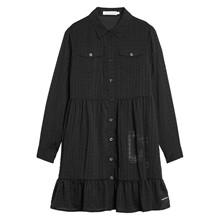 IG0IG00329 Calvin Klein kjole SORT