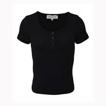 7200460 Hound  Rib T-shirt SORT
