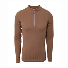 7201077 Hound Basic Zip Top BRUN