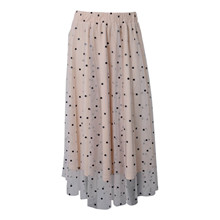 7210155 Hound Long Mesh Skirt  SAND