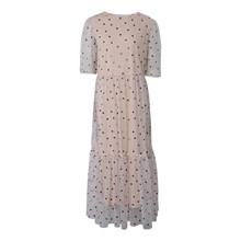 7210156 Hound Long Mesh Dress SAND