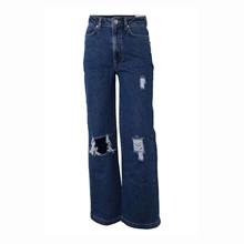 7210350 Hound Ribbed Wide Jeans BLÅ