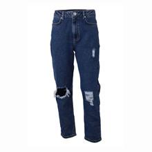7210351 Hound Ribbed Mom Jeans BLÅ