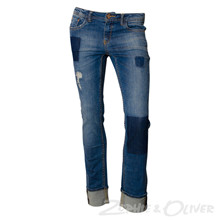 G72510 Garcia Jeans patches BLÅ