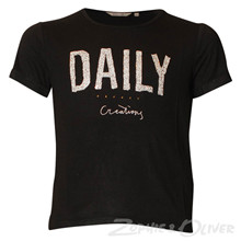 G72402 Garcia Daily T-shirt K/Æ SORT