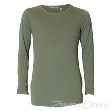H72608 Garcia t-shirt L/Æ ARMY