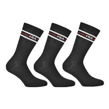 F9092 FILA Street Socks 3-Pack SORT