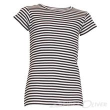 90267 Mads Nørgaard Tuvina T-shirt STRIBET