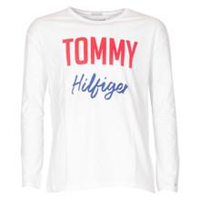 KG0KG04085 Tommy Hilfiger Tee L/Æ HVID