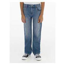 9ED512 Levis Straight Jeans BLÅ